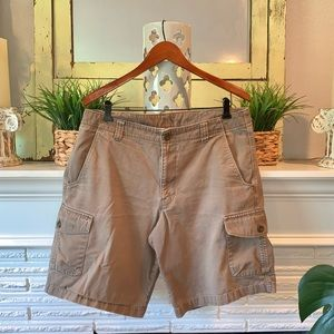 The North Face Men's Brown Cargo Shorts Size 36